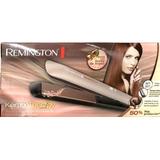 Nueva Plancha Remington Keratina-argan 8599 Original+ob