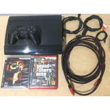 Play Station 3 Super Slim 250gb