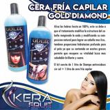 Cera Fría Capilar + Shampo De Litro