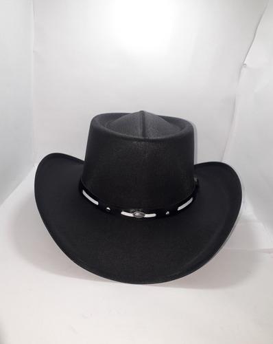 Sombrero Vaquero En Tela Almidonada Para Hombre Y Mujer 983d343182d