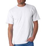 Camisetas Cuello Redondo Blancas En Algodón 185 Gr. Premium