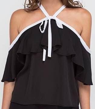 Blusas para mujer Limonni LI737 Campesinas