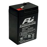 Bateria Sellada Fulibattery 6v 4ah 4 Amperios Original