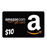 Amazon Gift Card 10 Usd -tarjeta Entrega Inmediata
