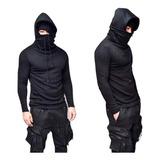 Busos Ninja Para Hombre Cuello Y Capucha Envió Gratis