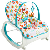 Silla Mecedora Vibradora Fisher Price Diamantes + Entrega Ya