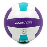 Balón De Voleibol Zoom Sports Activity # 5 Morado Z6017