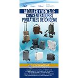 Alquiler Venta Concentrador Portatil Oxigeno Copa Oximedical