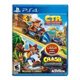 Crash Team Racing + Bandicoot 2 En 1 Bundle- Ps4 Nuevofisico