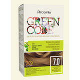 Tinte Sin Amonico Green Code Kit 7.0 - g a $432