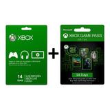 Xbox Live Gold 14 Dias + Xbox Game Pass 14 Dias. Promoción!!