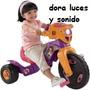 Triciclo Fisher Price Dora Luces Y Sonidos Envio Gratis