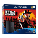 Ps4 Pro 1tb Bundle Red Dead Redemption 2. Entrega Inmediata