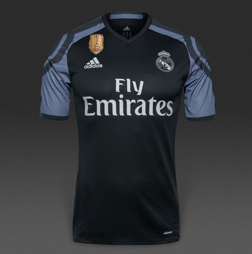 a31b6d25434f1 Camiseta Alterna Real Madrid 2016 2017 Champions League