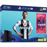 Ps4 Pro 1tb Bundle Fifa 19. Nueva Y Sellada