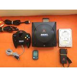 Sega Dreamcast Hdd / Snes Nes Atari N64 3ds Wii Xbox Ps1 Gba