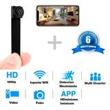 Mini Camara Espia, Wifi,inalambrica,1080p 6 Meses Garantia.