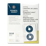 Etiquetas De Cd / Dvd De Origen Empresarial Para Impresoras