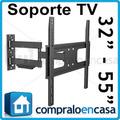 Soporte Base Ecualizable Pared Televisores Lcd, Led Y Plasma