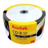 Cd Imprimible Kodak 50 Unidades 52x - Unidad a $500
