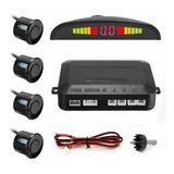 Sensor Parqueo Reversa Carros X4 Sensores + Broca Rf 870