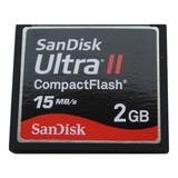 Memoria Compact Flash Sandisk Ultra Il 2gb