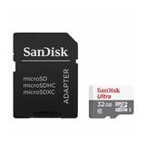 Sandisk Ultra, Tarjeta Micro Sdhc 32gb, Uhs-i, C10, 80mb/s