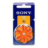 Pila Audífono Sony 13 Pr48 1.44v Blister X 6