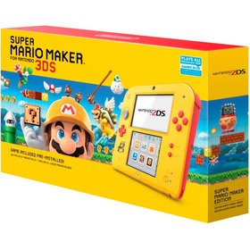 Consola Nintendo 2ds Wifi Juego Mario Maker Memoria 4gb Ar