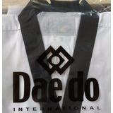 Uniforme Taekwondo Daedo Wtf Originales Adulto Cuello Negro