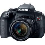 Cámara Canon Rebel T7i 24.2mp 18-55+16gb+bolso+tripode+kit