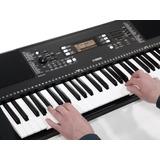 Piano Yamaha Psr E363 + Base, Estuche, Dvd Y Envío Citimusic
