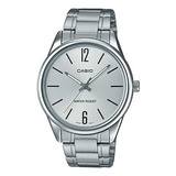 Reloj Casio Mtp-v005d Análogo Acero Hombre 100% Original