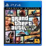 Grand Theft Auto 5 Gta V Ps4. Premium Edition. Fisico