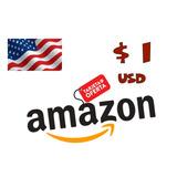 Amazon Gift Card Tarjetas De Regalo 1 Dólar