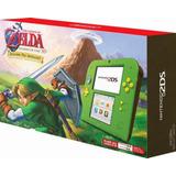 Nintendo 2ds + Juego Zelda Ocarina + Mem 4gb