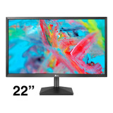 Monitor 22 Pulgadas Led Lg  Hdmi Vga Full Hd 22mk400 22