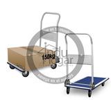 Carretilla Carro Plegable Con Plataforma Tipo Zorra 150kg