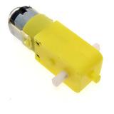Motorreductor Plástico / Motor Dc Con Caja Reductora