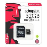 Micro Sd 32gb Clase 10 Kingston 80mb/s Original