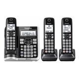 Teléfono Inalámbrico Panasonic Kx-tgf573 Contestador X 3