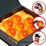 Esferas Del Dragon Ball Original 4.5 Cm + Llavero Y Boton