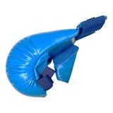 Guantin  Karate Bushido Talla S M L Azul Y Rojo