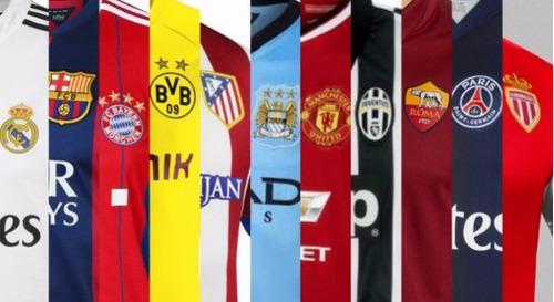 63e6617caf Camisetas Equipos Europeos 2014 - 2015 Real Barce Chelsea