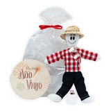 Muñeco Año Viejo Regalo Empresarial Ancheta Navidad Ritual