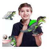 Dinosaurio Tiranosaurio Spray Juguete Camina Luces Sonidos