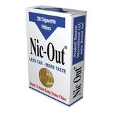 30 Filtros Nic Out Cigarrillo Nicotina Nofumar Envio Ya