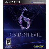 Ps3 Resident Evil 6 Juego Digital