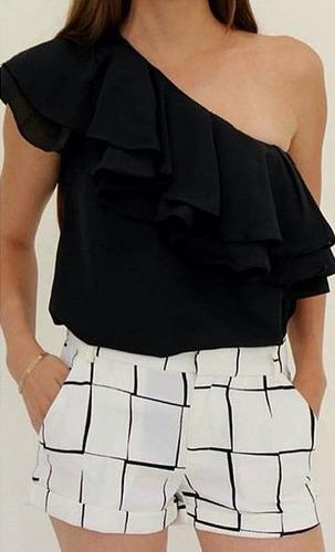 Blusas para mujer Limonni LI637 Campesinas