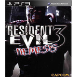 Resident Evil 3 Nemesis Ps3 Clasico Completo Ps3